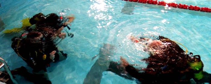 zajęcia basenowe